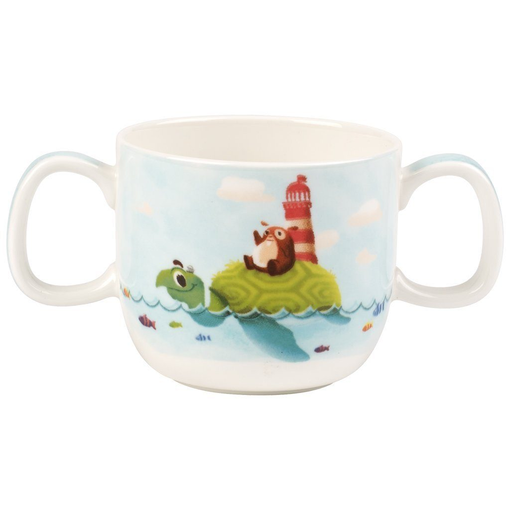Villeroy & Boch Kinderbecher mit 2 Henkel »Chewy around the world«