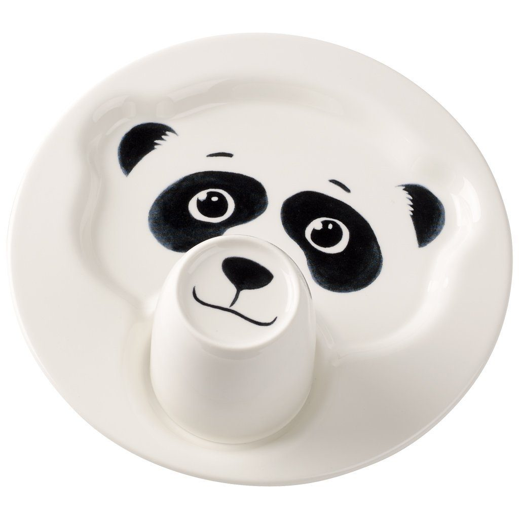 Villeroy & Boch Teller mit Becher, Pandabär »Animal Friends«