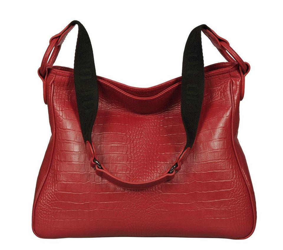 Silvio Tossi Handtaschen in rot