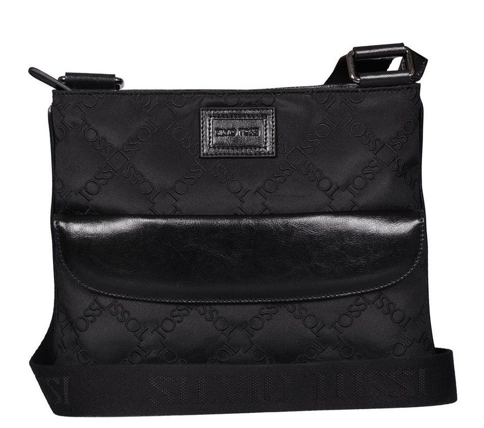 Silvio Tossi Handtaschen in schwarz-textil