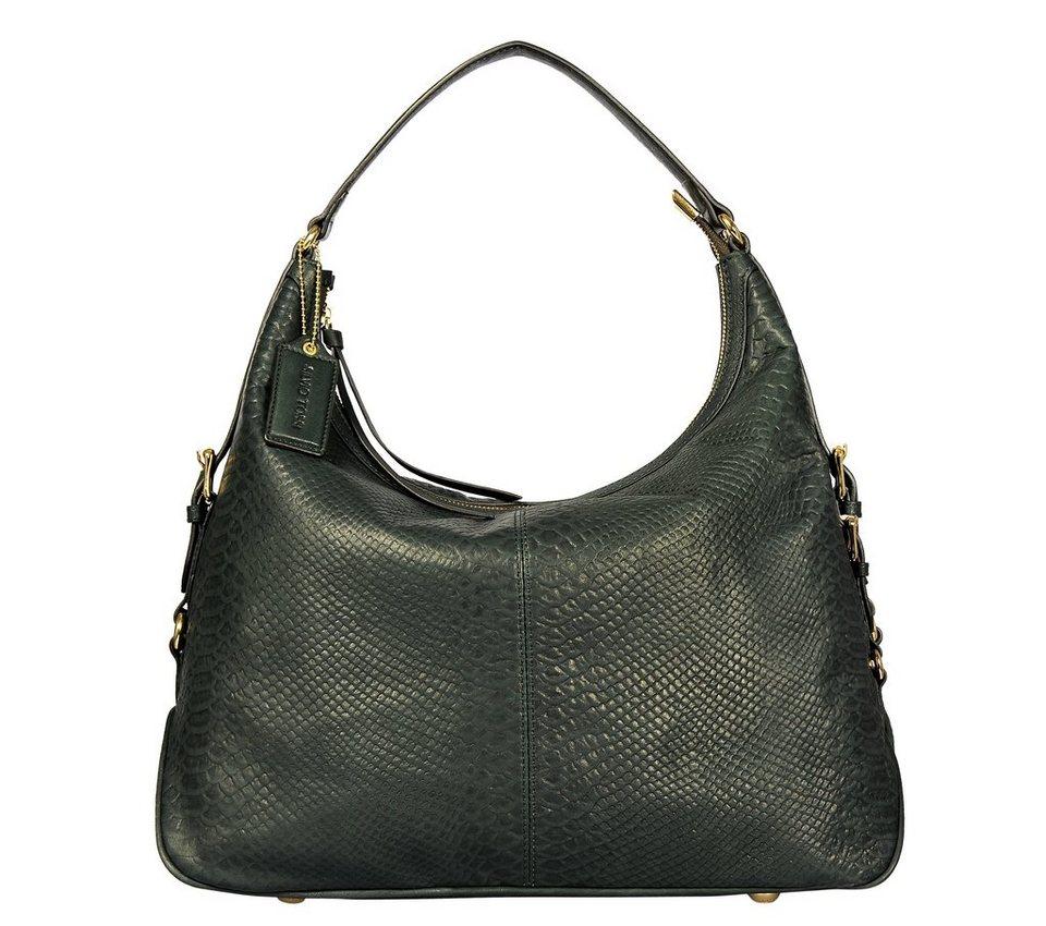 Silvio Tossi Handtaschen in dunkelgrün