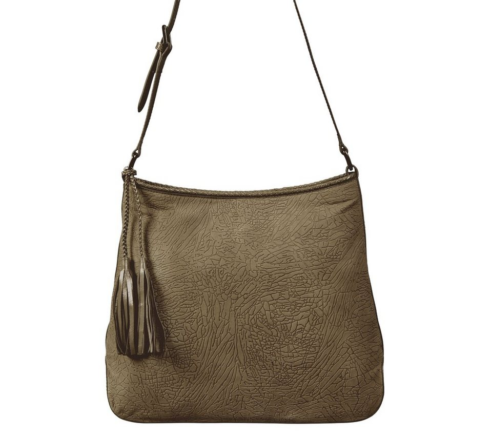 Silvio Tossi Handtaschen in dunkelolive