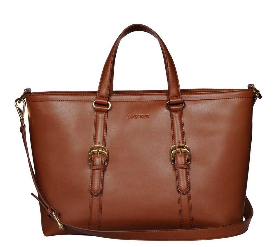 Silvio Tossi Handtaschen in whisky