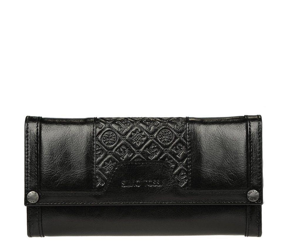 Silvio Tossi Portemonnaie in schwarz