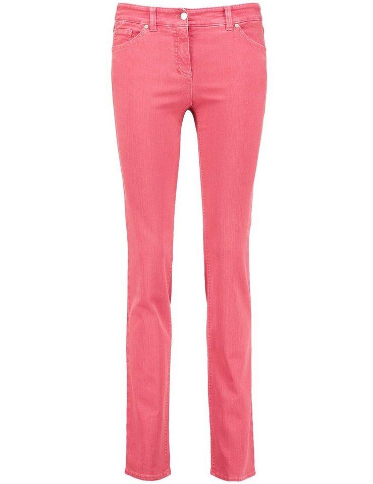 Gerry Weber Hose Jeans lang »5-Pocket Hose Roxy« in Himbeer