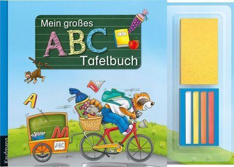 Buch mit Papp-Einband »Mein großes ABC-Tafelbuch«