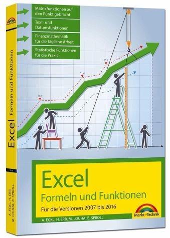 Broschiertes Buch »Excel Formeln und Funktionen für 2016, 2013,...«