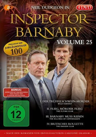 DVD »Inspector Barnaby, Vol. 25 (4 Discs)«