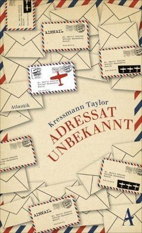 Buch mit Leinen-Einband »Adressat unbekannt«