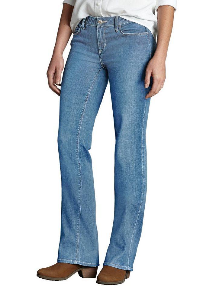 Eddie Bauer Bootcut Jeans in Weathered Indigo