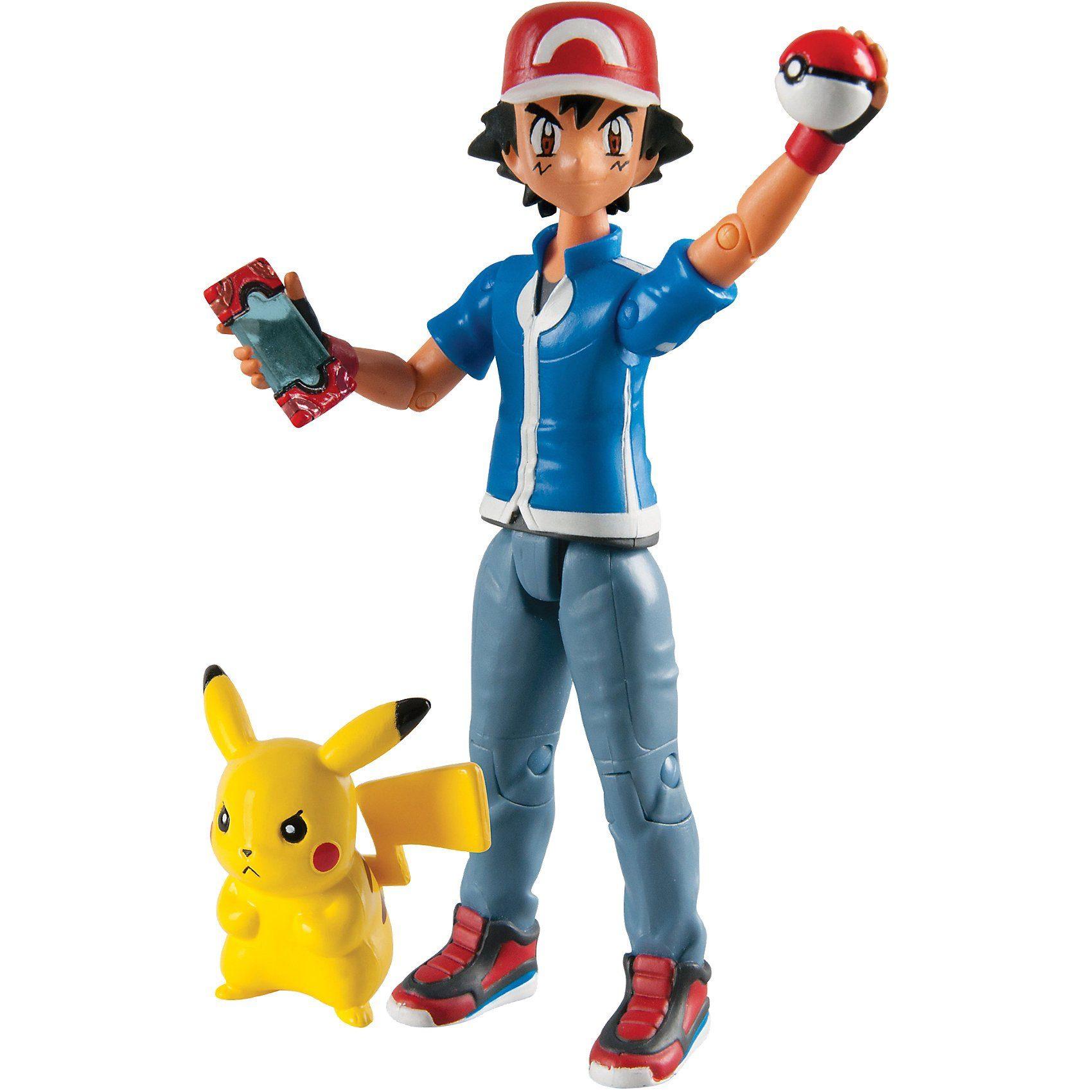 TOMY Pokémon - Ash und Pikachu Actionfigur