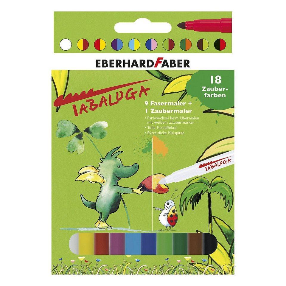 Eberhard Faber Filzstifte Zaubermaler Tabaluga, 10 Farben