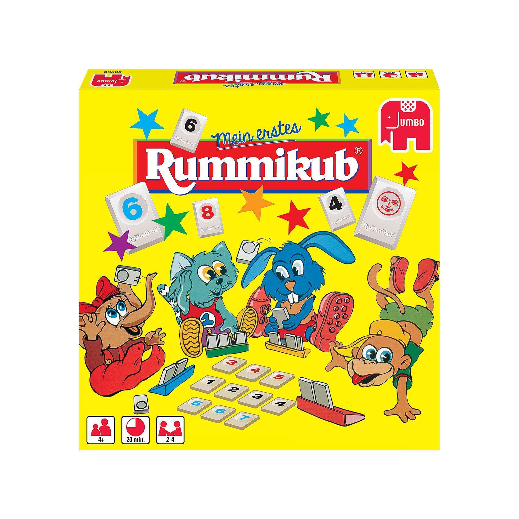 Jumbo Mein erstes Rummikub