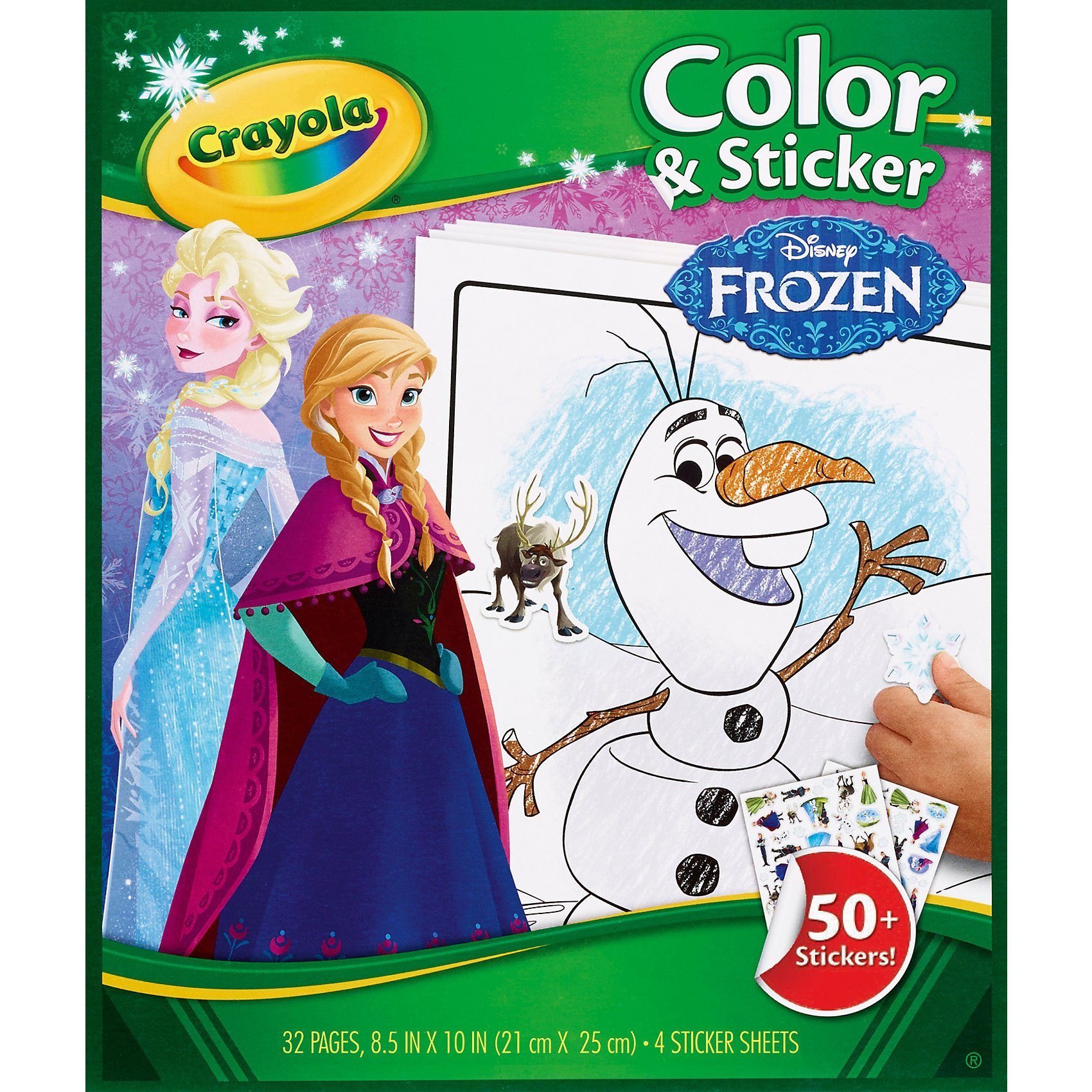 Crayola Color & Stickerbook - Frozen