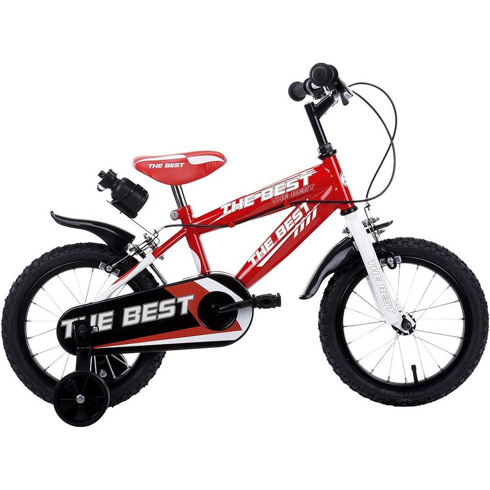 Schiano Kids Kinderfahrrad The Best, 12 Zoll in rot