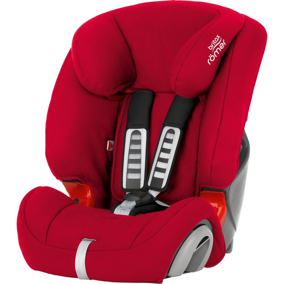 Britax Römer Auto-Kindersitz EVOLVA 1-2-3, Flame Red, 2016 in rot