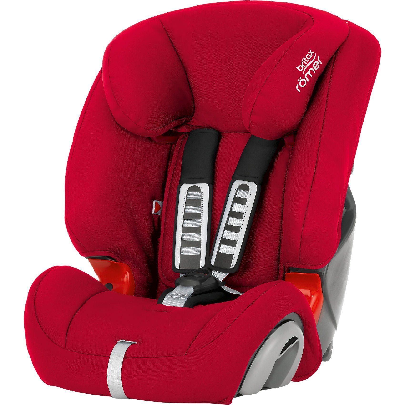 Britax Römer Auto-Kindersitz EVOLVA 1-2-3, Flame Red, 2018