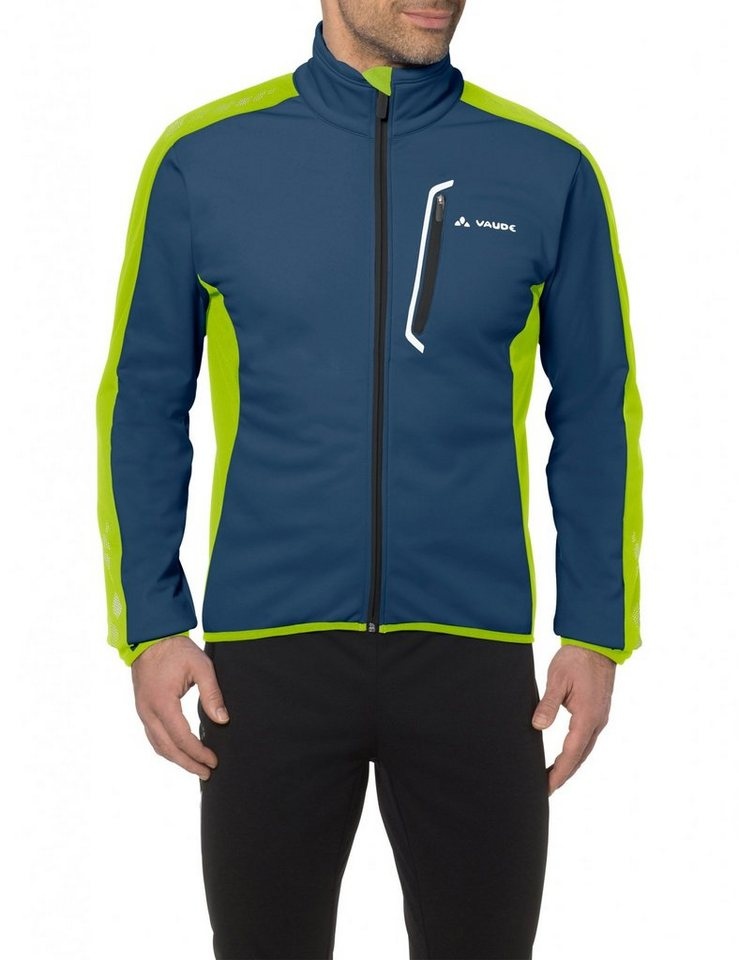 VAUDE Radjacke »Posta Softshell Jacket IV Men« in blau