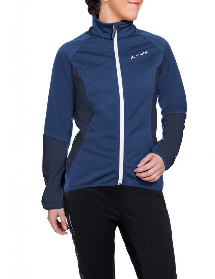 VAUDE Radjacke »Resca Softshell Jacket Women« in blau