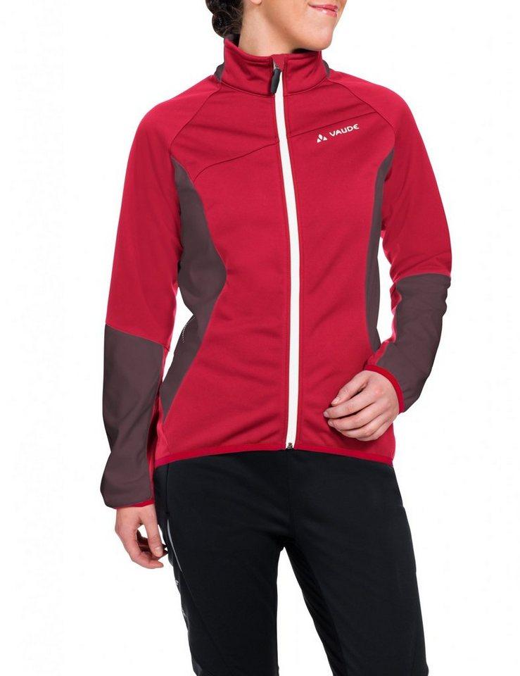 VAUDE Radjacke »Resca Softshell Jacket Women« in rot