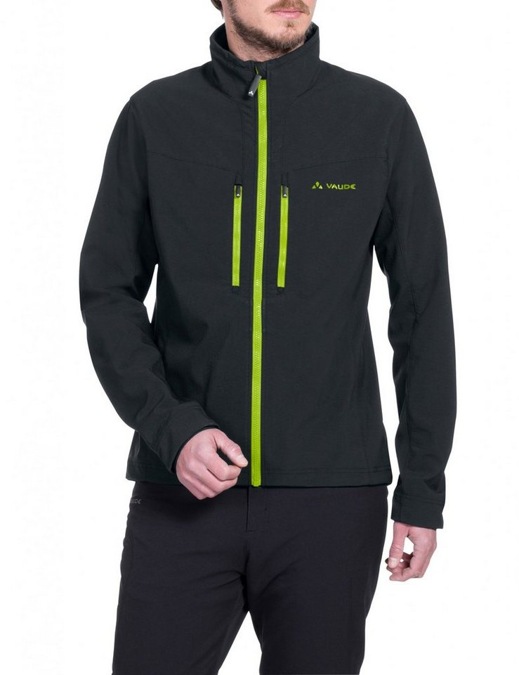 VAUDE Radjacke »Qimsa Softshell Jacket Men« in schwarz