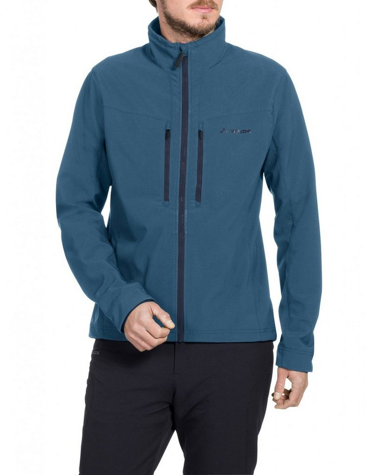 VAUDE Radjacke »Qimsa Softshell Jacket Men« in blau