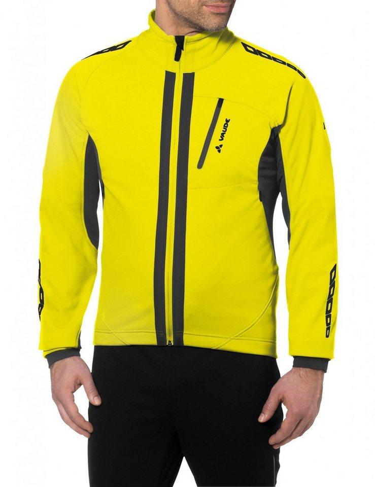 VAUDE Radjacke »Kuro II Softshell Jacket Men« in gelb