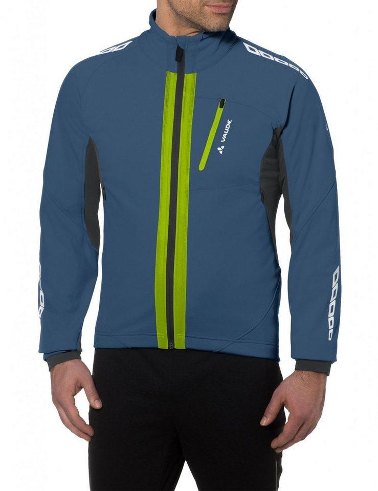 VAUDE Radjacke »Kuro II Softshell Jacket Men« in blau
