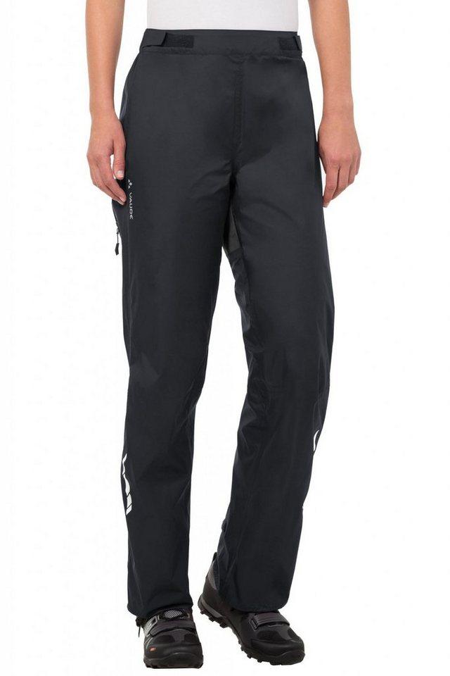 VAUDE Radhose »Tremalzo Rain Pants Women« in schwarz