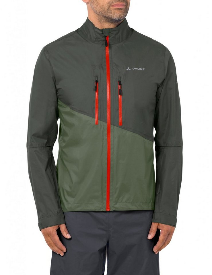 VAUDE Radjacke »Tremalzo Rain Jacket Men« in oliv