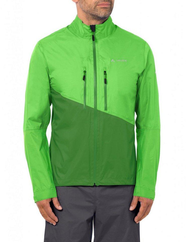 VAUDE Radjacke »Tremalzo Rain Jacket Men« in grün