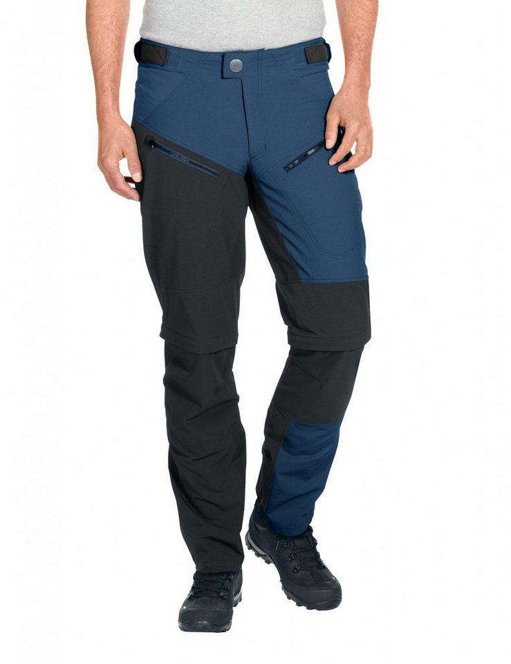 VAUDE Radhose »Morzine ZO Pants Men« in blau