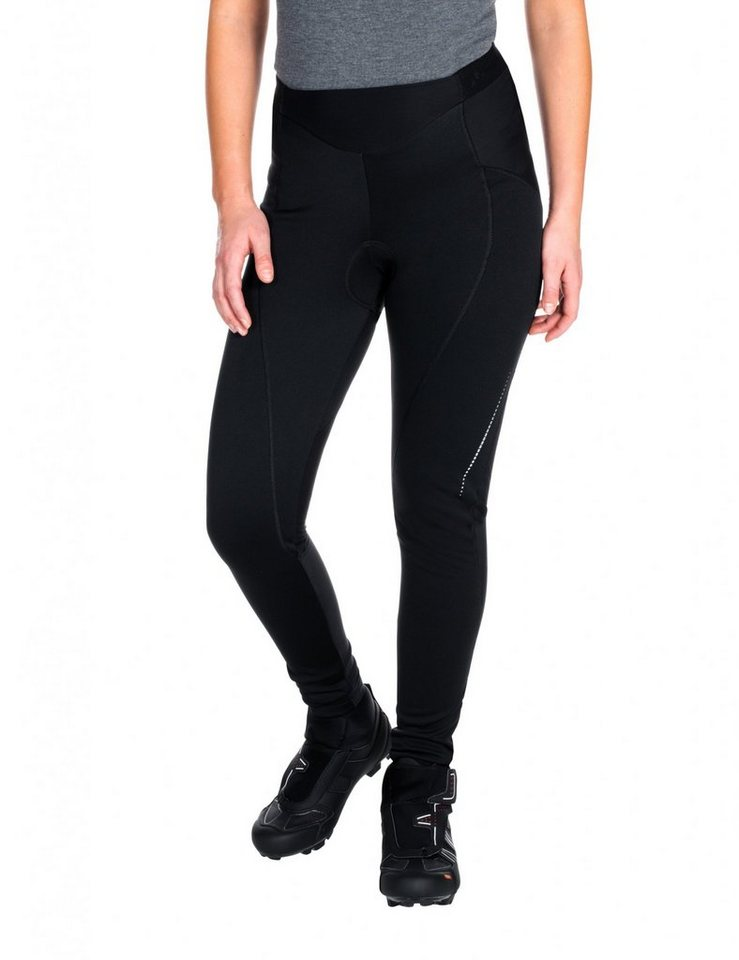 VAUDE Radhose »Advanced Warm Pants II Women« in schwarz