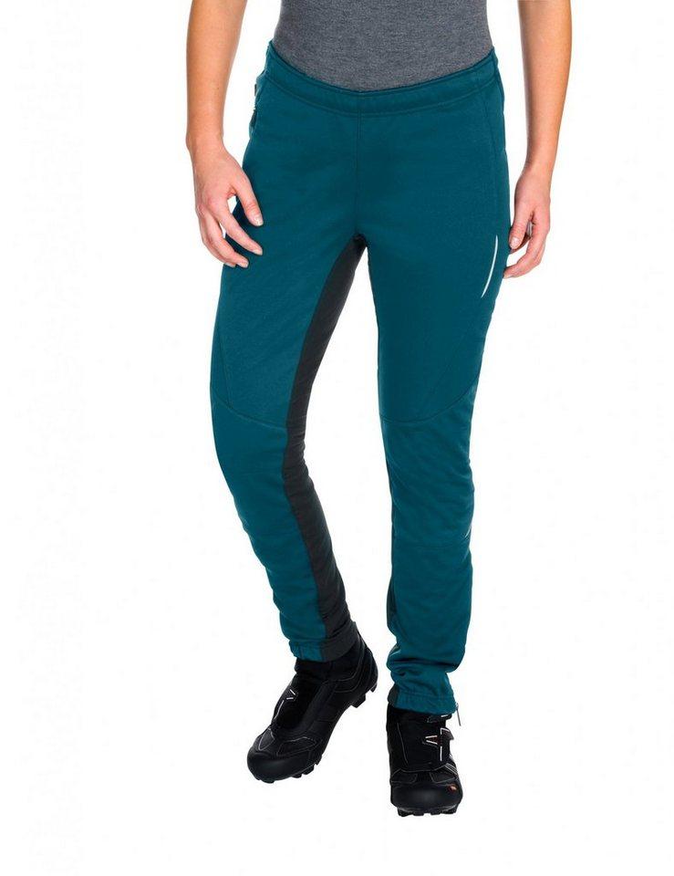 VAUDE Radhose »Wintry III Pants Women« in schwarz