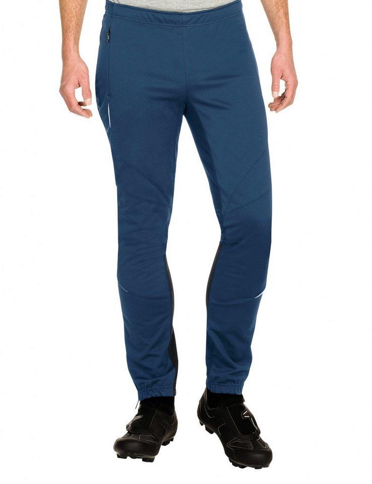 VAUDE Radhose »Wintry III Pants Men« in blau