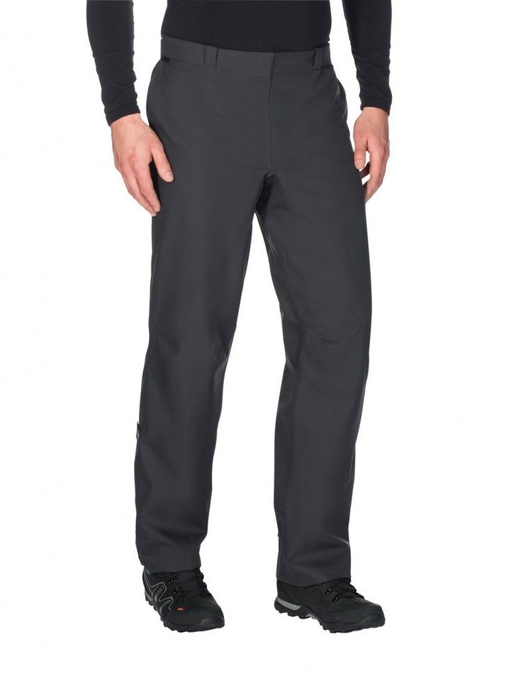 VAUDE Radhose »Cyclist Rainpants Unisex« in schwarz