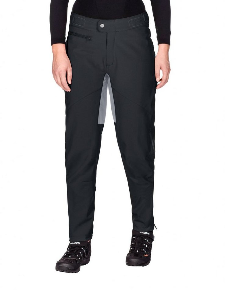 VAUDE Radhose »Qimsa II Softshell Pants Women« in schwarz
