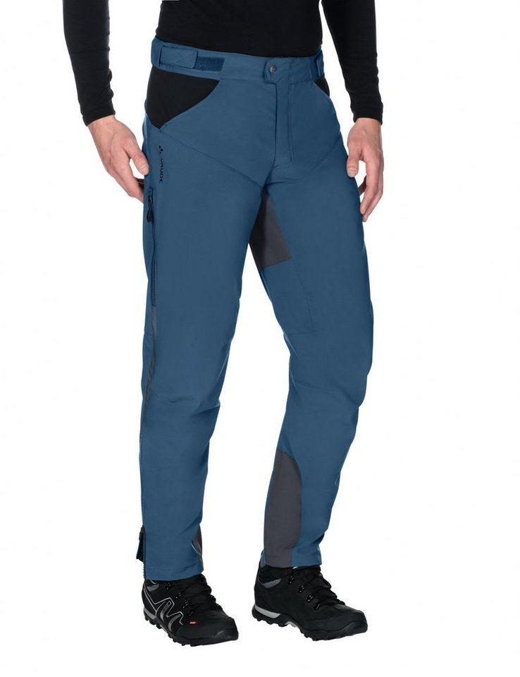 VAUDE Radhose »Qimsa II Softshell Pants Men« in blau