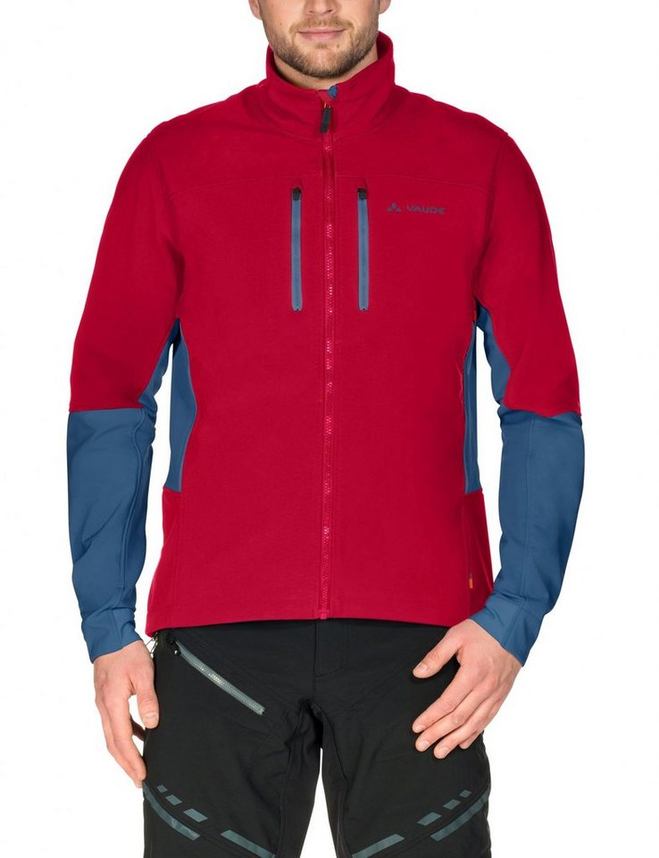VAUDE Radjacke »Virt II Softshell Jacket Men« in rot