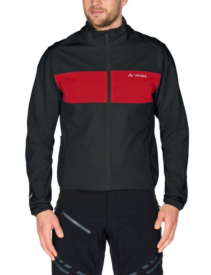 VAUDE Radjacke »Matera III Softshell Jacket Men« in schwarz