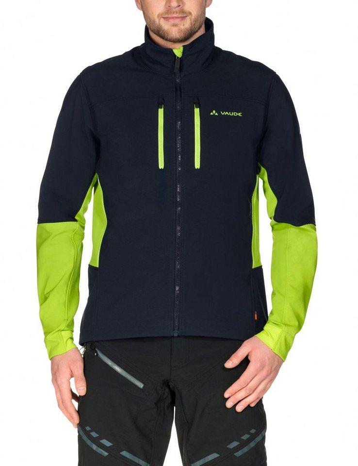 VAUDE Radjacke »Virt II Softshell Jacket Men« in schwarz