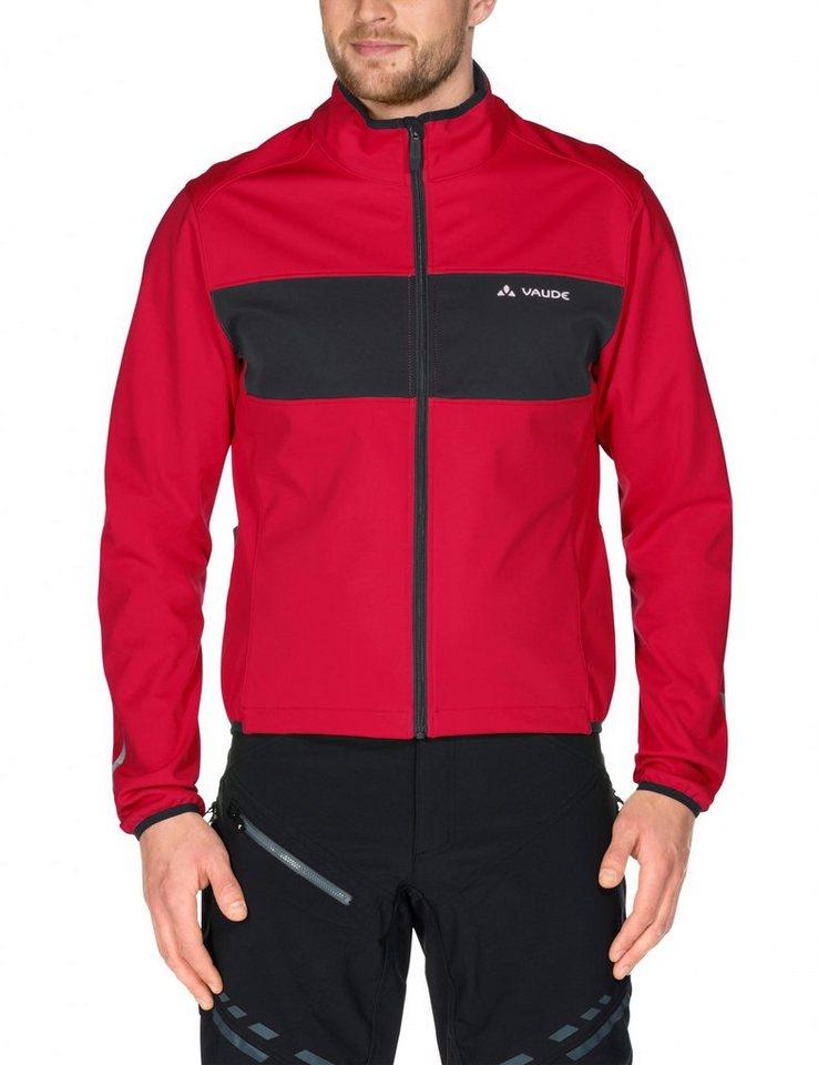 VAUDE Radjacke »Matera III Softshell Jacket Men« in rot