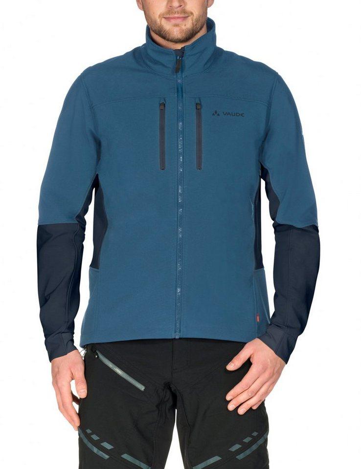 VAUDE Radjacke »Virt II Softshell Jacket Men« in blau
