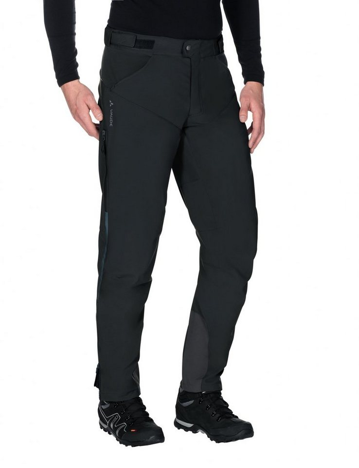 VAUDE Radhose »Qimsa II Softshell Pants Men« in schwarz