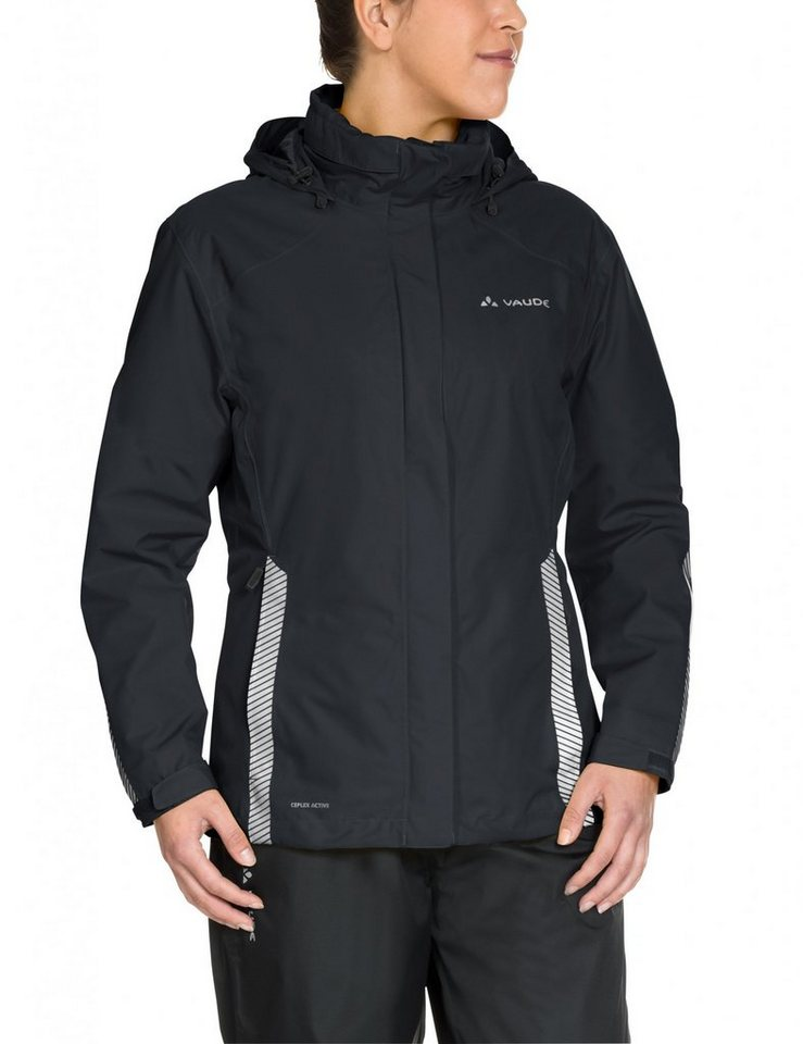 VAUDE Radjacke »Luminum Jacket Women« in schwarz