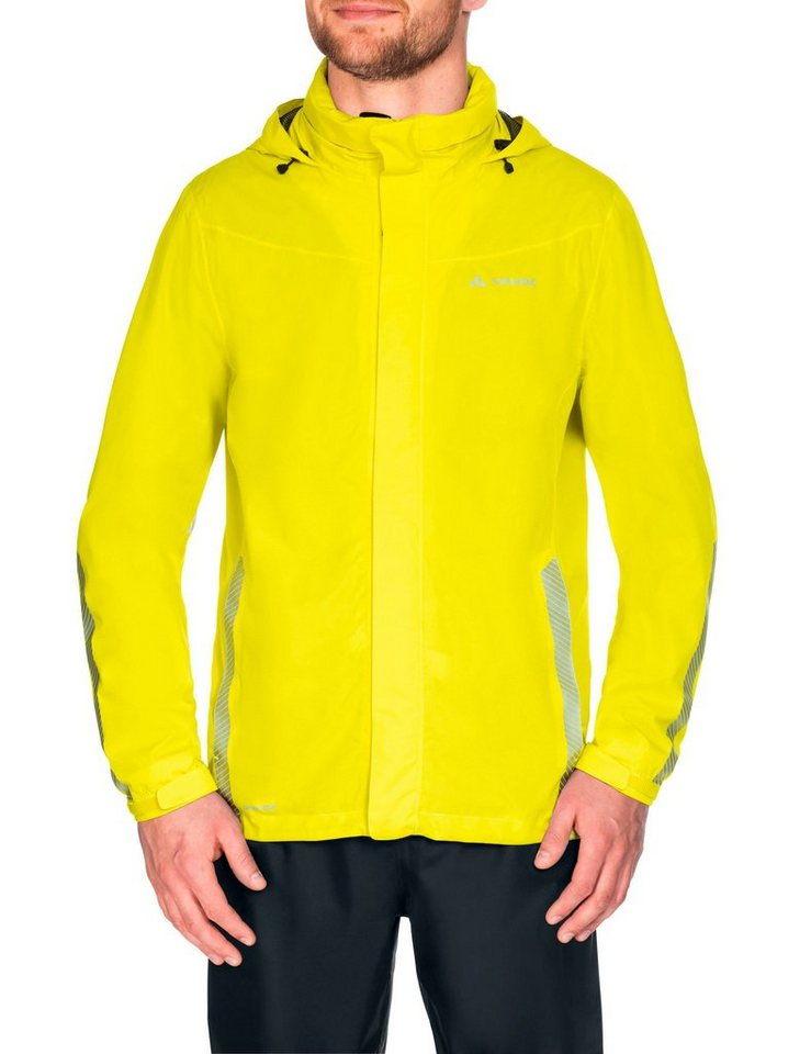 VAUDE Radjacke »Luminum Jacket Men« in gelb