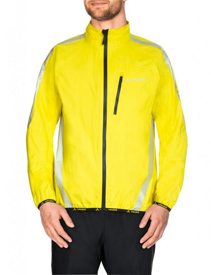 VAUDE Radjacke »Luminum Performance Jacket Men« in gelb