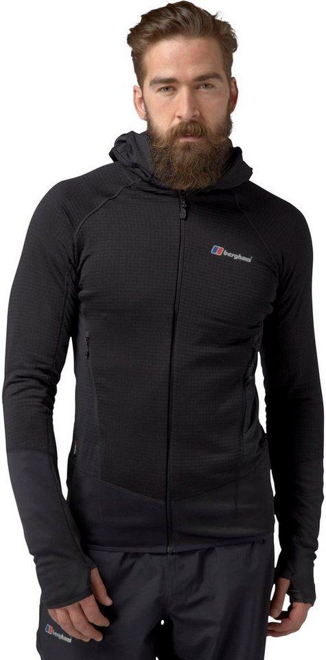 Berghaus Outdoorjacke »Extrem 7000 Hoody Fleece Jacket Men« in schwarz