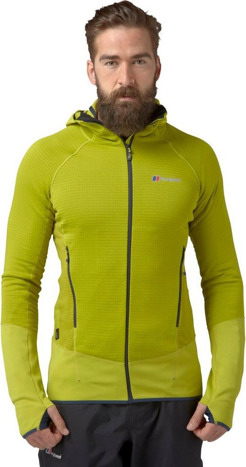 Berghaus Outdoorjacke »Extrem 7000 Hoody Fleece Jacket Men« in gelb