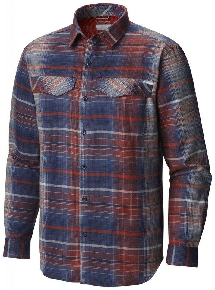 Columbia Hemd »Silver Ridge Flannel Long Sleeve Shirt Men« in blau